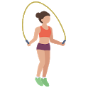 Jump Rope Counter + Calories icon
