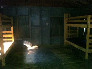 Photo: Inside one of the Midget cabins. In Cottington Woods, this is NPC/Cast Housing.