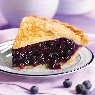 Oven Baked Blueberry Pie