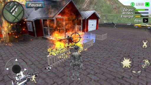 Rope Mummy Crime Simulator: Vegas Hero 1.0.1 screenshots 5
