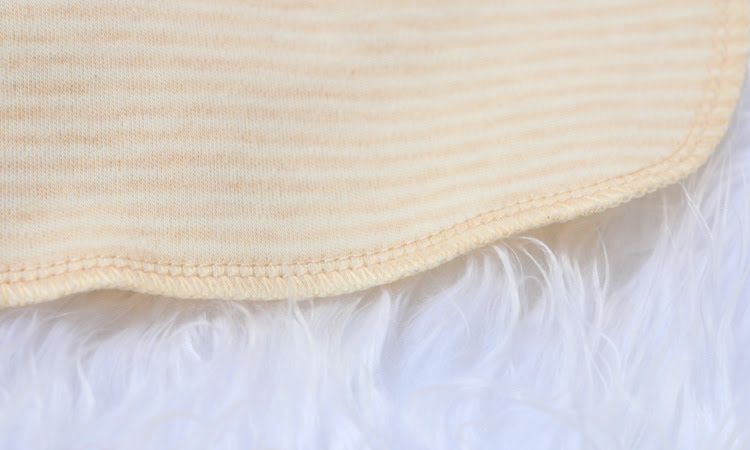Trendyvalley 9pcs Organic Cotton Baby Handkerchief Baby Wash Handkerchief (22cm x 22cm)