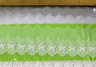 Photo: №479292-30チュールレースオフ:巾70㎜