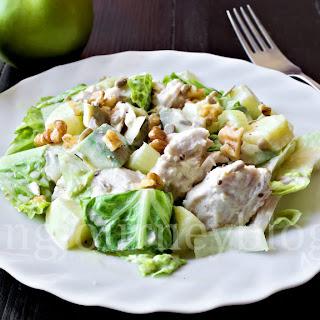 Avocado chicken salad – Healthy salad recipes.