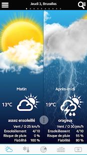 Weather for Belgium- screenshot thumbnail