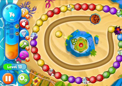 Marble Woka Woka from the jungle to the marble sea screenshot 16