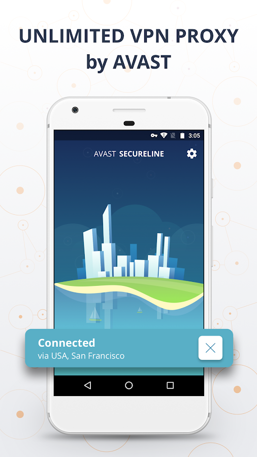 VPN Proxy by Avast SecureLine - Anonymous Security- screenshot