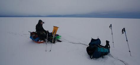 Photo: rest on Seward Glacier