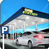 Gas Station car parking: City Service