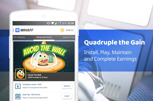 WHAFF Rewards app (apk) free download for Android/PC/Windows screenshot