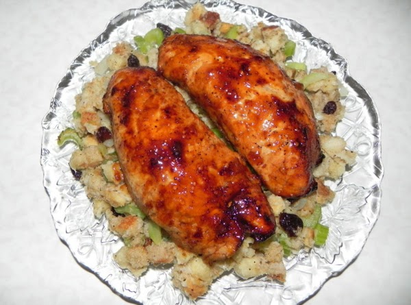 Apricot Glazed Turkey Breast Recipe