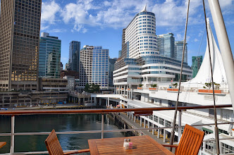 Photo: Vancouver, from the ship - before leaving