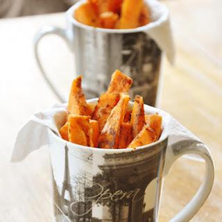 Spicy Sweet Potato Fries.