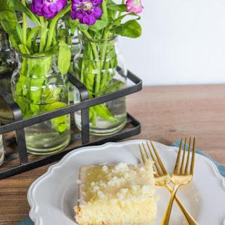 Lemon Buttermilk Sheet Cake