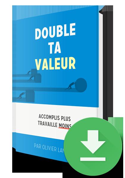 Télécharger le livre Double Ta Valeur