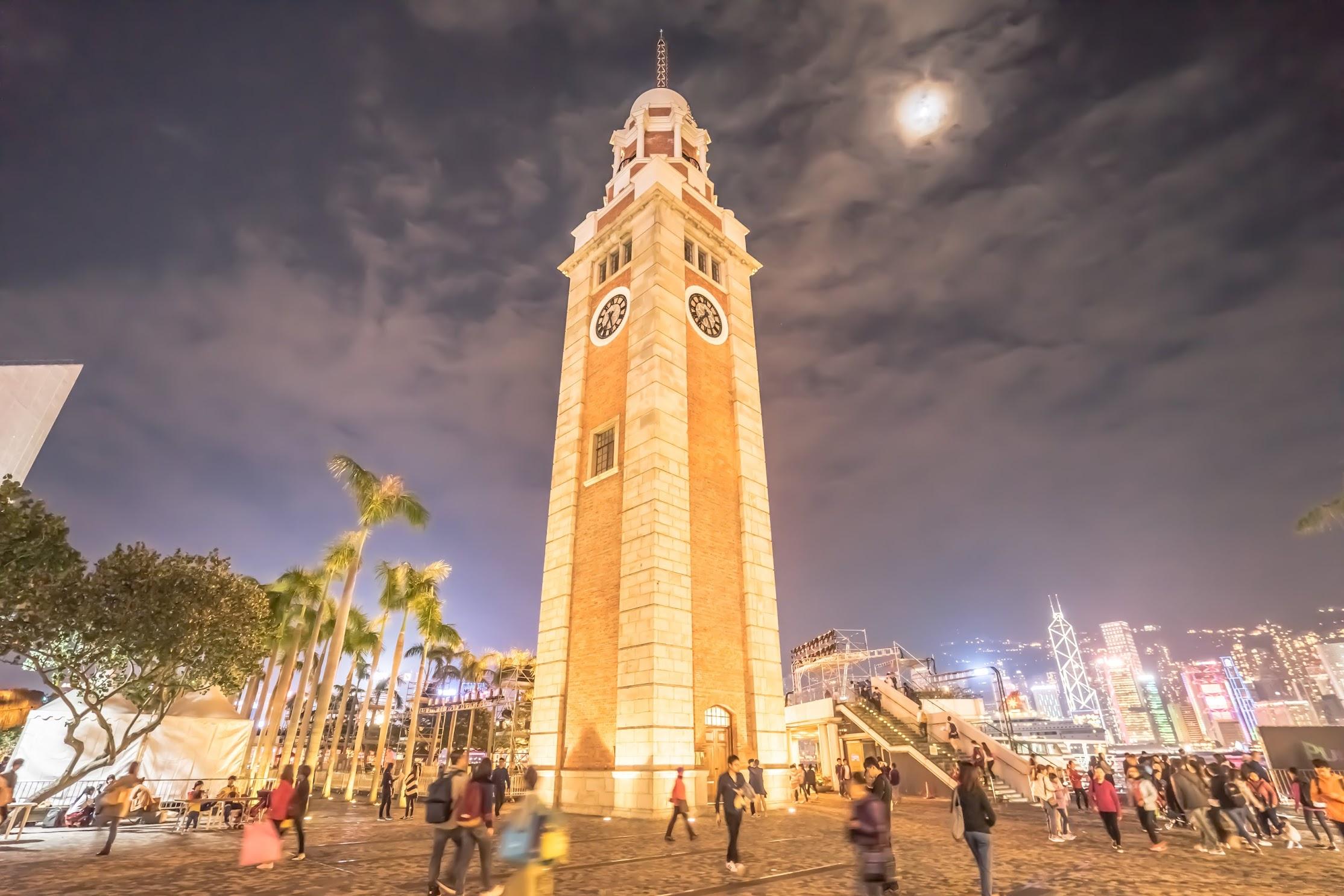 香港 尖沙咀鐘楼(時計塔)