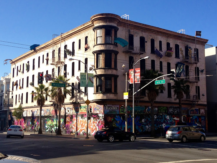 "A ""Defenestration"" building in SOMA."