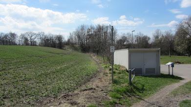 Photo: Hier ein Blick auf die Deutsch-Dänische Grenze ( der Ackerrand in der Mitte des Bildes )