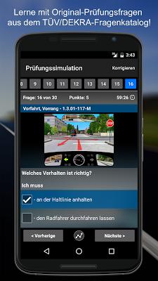 iFahrschulTheorie: Führerschein Fahrschule 2017 - screenshot