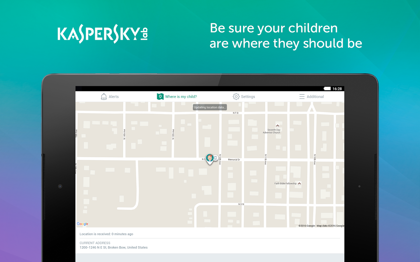 Kaspersky SafeKids: Parental Control for Android- screenshot