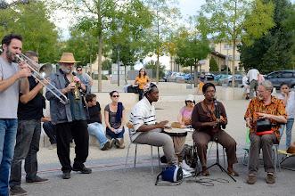 Photo: Journée du patrimoine et musique Place Abbé Pierre