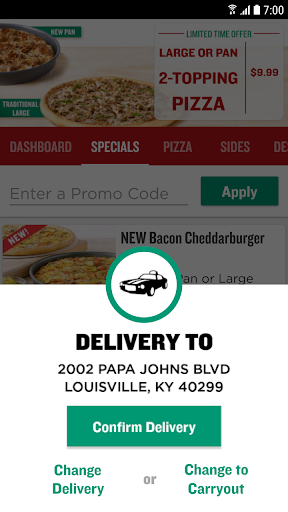 Papa John's Pizza for PC