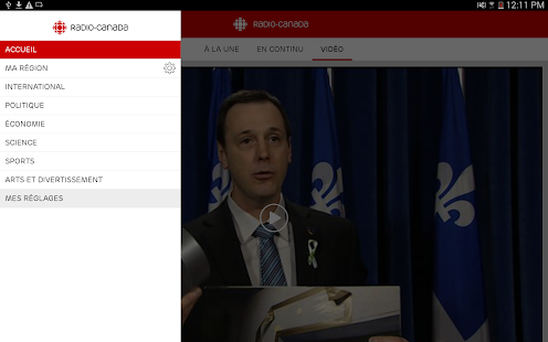 Radio-Canada- screenshot thumbnail