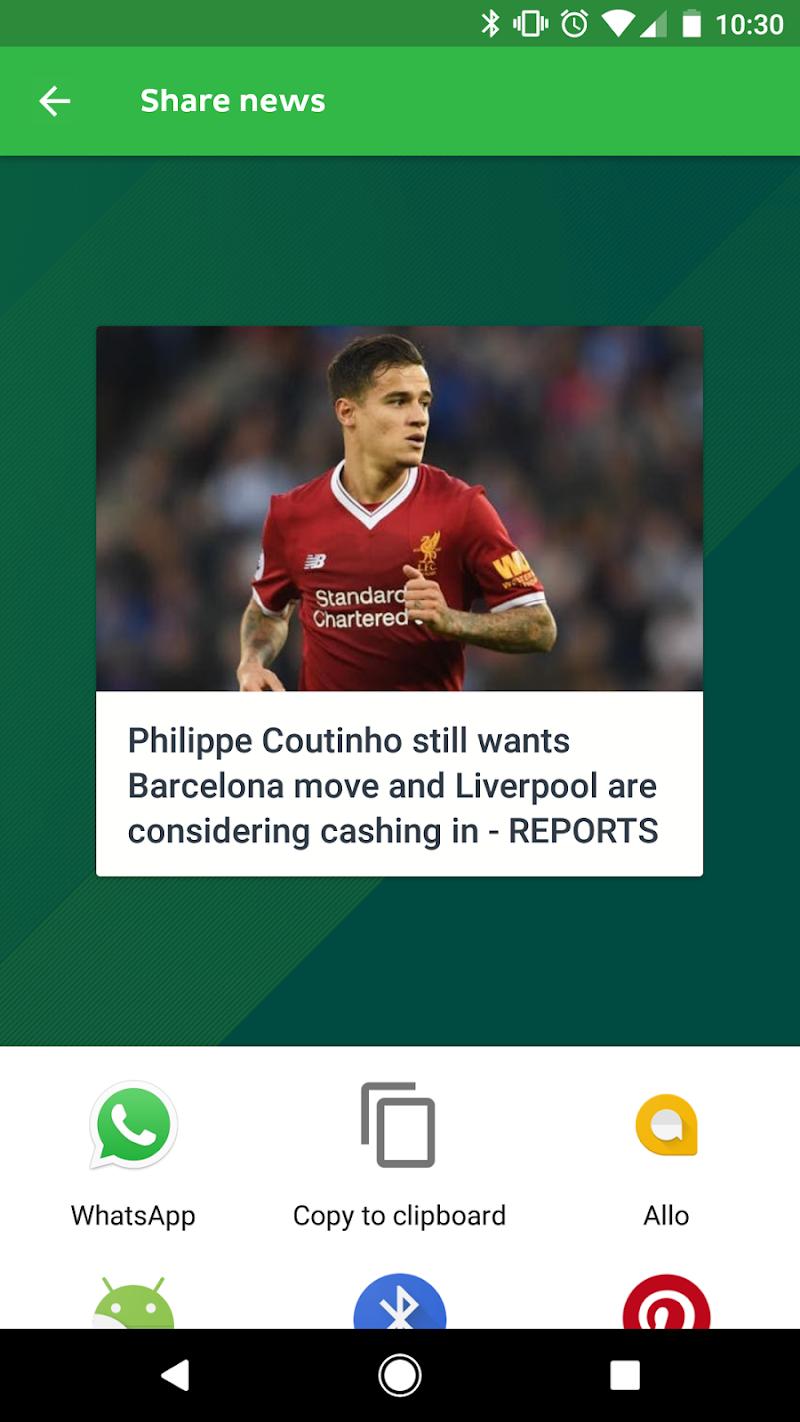 Onefootball Live Soccer Scores Screenshot 4