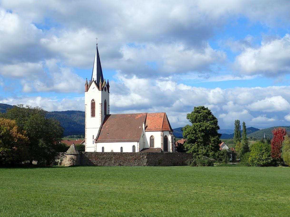 Hartmannswiller, l'église fortifiée