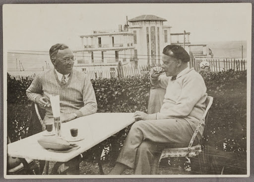 Wassily Kandinsky and Paul Klee in Guéthary