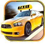 Holiday Rush Hour Taxi Cab