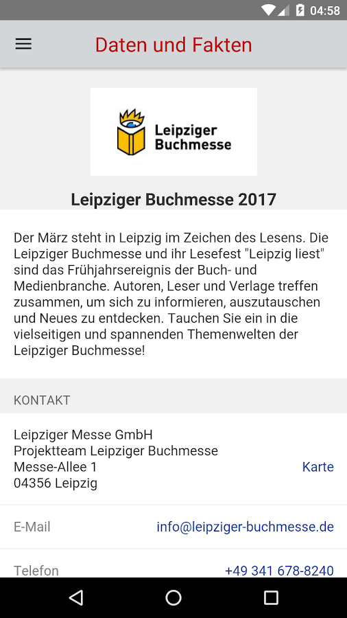 Leipziger Buchmesse 2017 – Screenshot