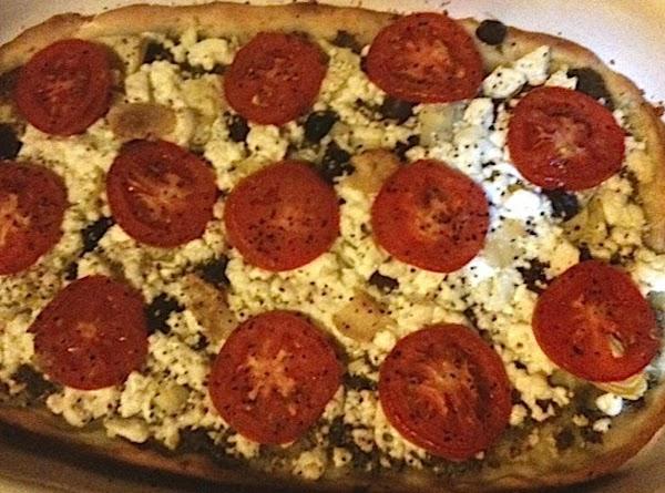 Summer Pesto Pizza Recipe