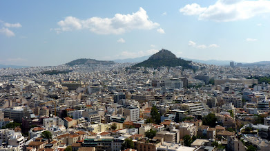 Photo: View from Acropolis - looking North-East