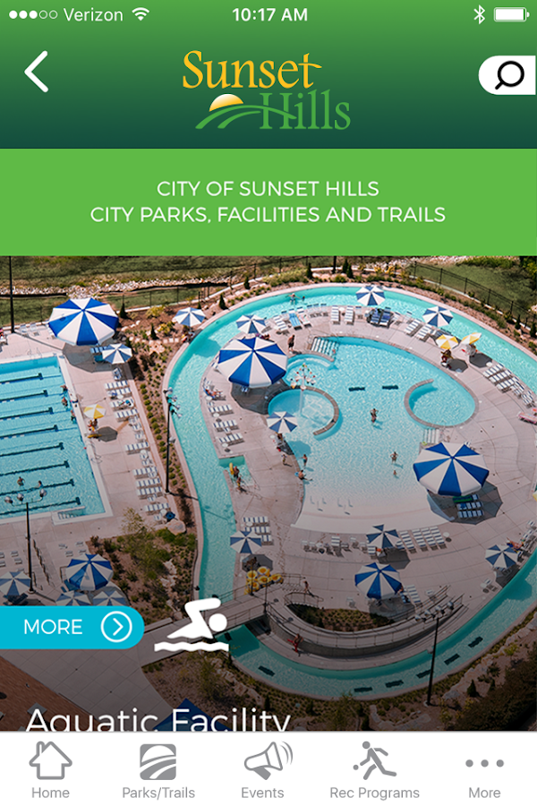 Sunset Hills Parks & Rec- screenshot
