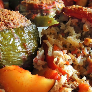 Stuffed summer vegetables - Yemista