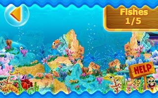 Screenshot of Kids Fish HD