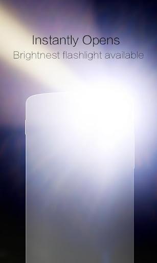 CM Flashlight (Compass, SOS) screenshot 1