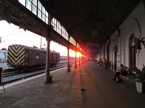 Photo: train station Maputo, Mozambique