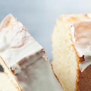 Cream Cheese Pound Cake with Citrus Glaze.