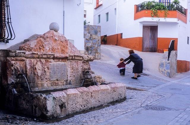 Fuente en Laujar de Andarax.