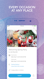 Bsociable – Event Scheduler Screenshot