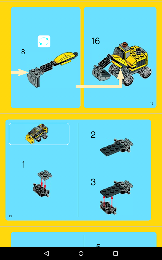 lego instructions app android