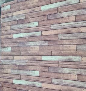Tapet autoadeziv caramizi maro, 77 x 70 cm, spuma moale 3D