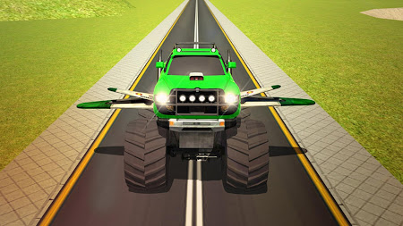 Flying Truck Pilot Driving 3D 1.1 screenshot 2088525