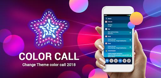 Color Phone - Call Screen Theme & Call Flash app (apk) free