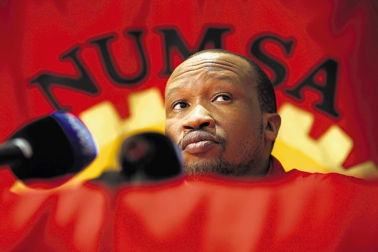 General Secretary of NUMSA, Irvin Jim.
