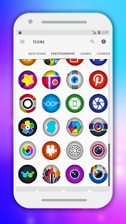 Flox - Icon Pack Apps til Android screenshot