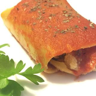 Vegan Lasagne Roll-ups