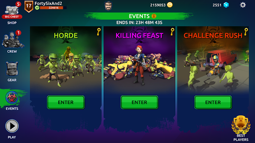 Zombie Blast Crew 2.1.1 screenshots 11