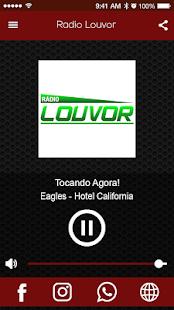 Download Rádio Louvor For PC Windows and Mac apk screenshot 1
